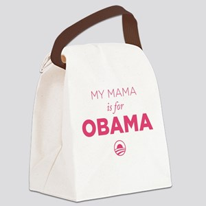 Mama for Obama Canvas Lunch Bag