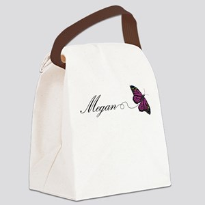 Megan Canvas Lunch Bag