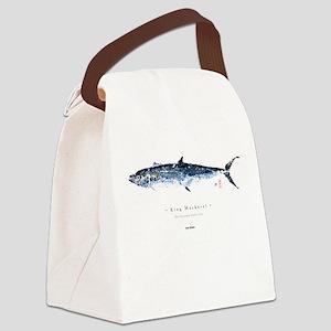 KIng Mackerel - Canvas Lunch Bag