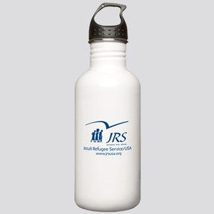 the JRS/USA logo in blue Stainless Water Bottle 1.