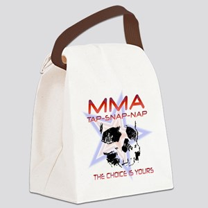 MMA Shirts and Gifts Canvas Lunch Bag