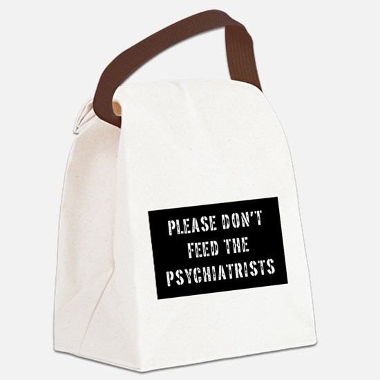 Psychiatrist Gift Canvas Lunch Bag