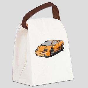 Lamborghini Diablo 2001 Canvas Lunch Bag