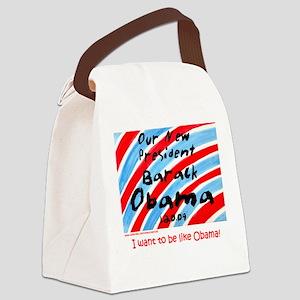 Our President Barack Obama Canvas Lunch Bag