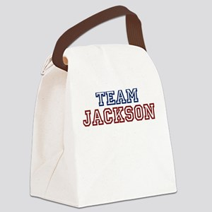 TEAM JACKSON Canvas Lunch Bag