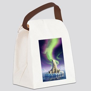 Arctic Kiss 1 Canvas Lunch Bag