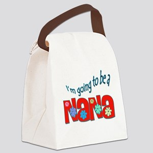 I'm going to be a Nana Canvas Lunch Bag