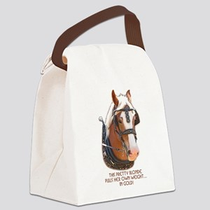 Belgian Gold Canvas Lunch Bag