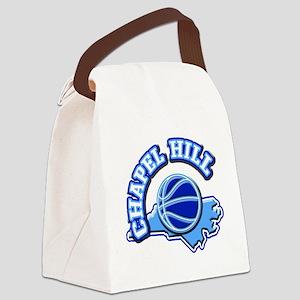 Chapel Hill Basketball Canvas Lunch Bag