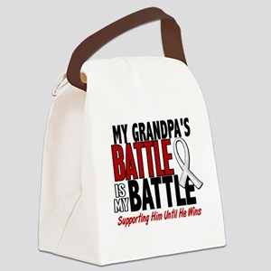 My Battle Too 1 PEARL WHITE (Grandpa) Canvas Lunch