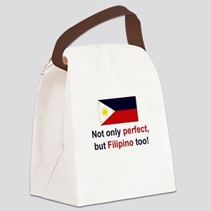 Perfect Filipino Canvas Lunch Bag