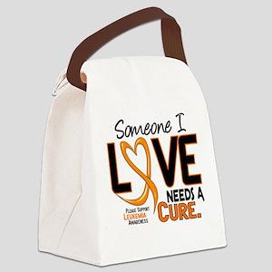 Needs A Cure 2 LEUKEMIA Canvas Lunch Bag