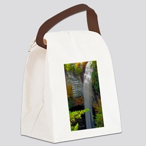Waterfall Blessings Canvas Lunch Bag