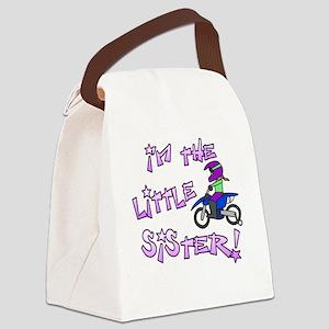 MX Little Sister Canvas Lunch Bag