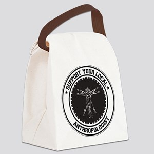 Support Anthropologist Canvas Lunch Bag