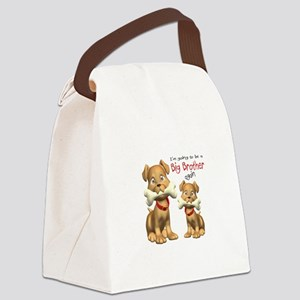 Dogs Big Brother Again Canvas Lunch Bag