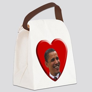 Love Barack Obama Canvas Lunch Bag