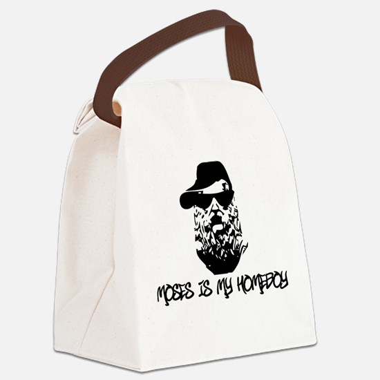 moses is my homeboy Canvas Lunch Bag