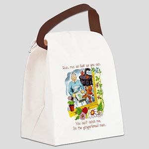 Gingerbread man Canvas Lunch Bag