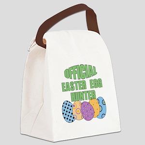 Easter Egg Hunter Canvas Lunch Bag