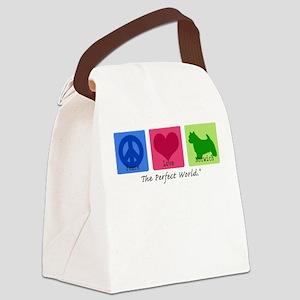 Peace Love Norwich Canvas Lunch Bag