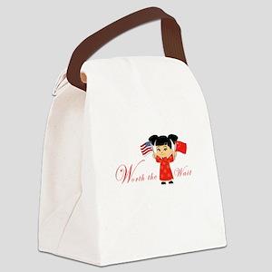 International Adoption ~ Chin Canvas Lunch Bag