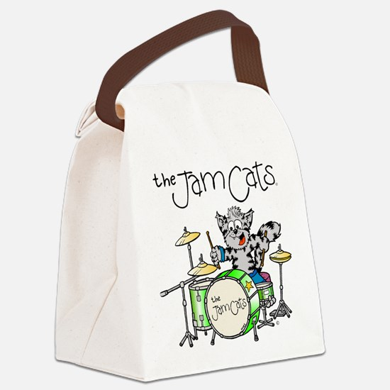 The Jam Cats Canvas Lunch Bag