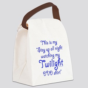 Watching Twilight Canvas Lunch Bag