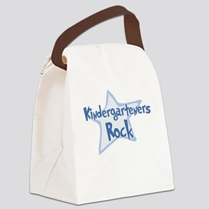 Kindergarteners Rock - Canvas Lunch Bag