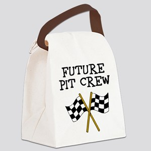 Future Pit Crew Canvas Lunch Bag
