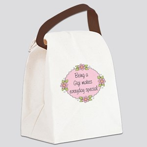 Gigi Special Canvas Lunch Bag