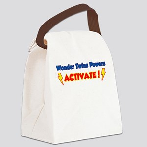 Wonder Twins Powers Activate! Canvas Lunch Bag