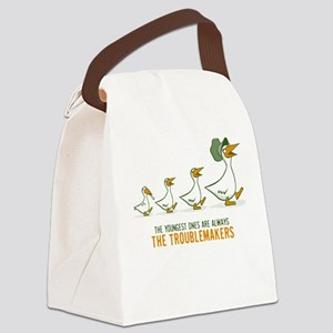 The Youngest Ones Are Always Canvas Lunch Bag