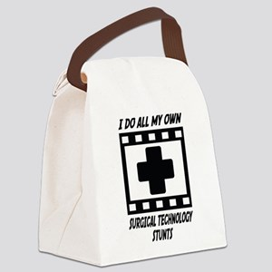 Surgical Technology Stunts Canvas Lunch Bag
