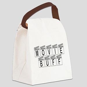 Movie Buff Canvas Lunch Bag