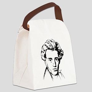 Strk3 Soren Kierkegaard Canvas Lunch Bag