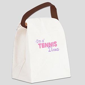 I'm a Tennis diva Canvas Lunch Bag