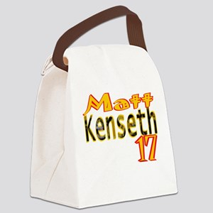 Matt Kenseth Canvas Lunch Bag