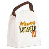 Matt kenseth baby Canvas Lunch Bag
