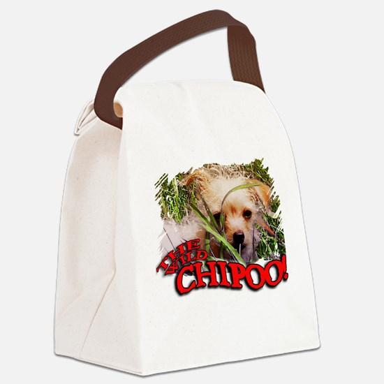 THE WILD CHIPOO, Canvas Lunch Bag