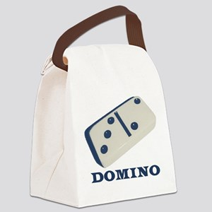 Domino Canvas Lunch Bag