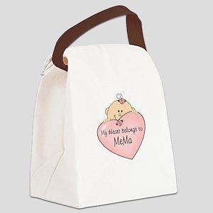 Heart Belongs to MeMa Canvas Lunch Bag