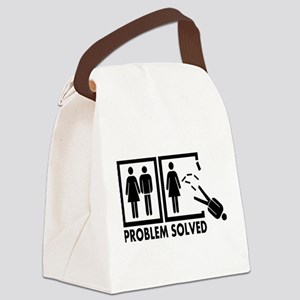 Problem solved - Man Canvas Lunch Bag