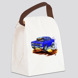 Roadrunner Blue Car Canvas Lunch Bag