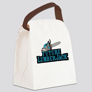 Future Lumberjack Canvas Lunch Bag