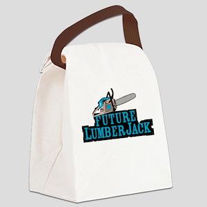 Future Lumberjack Canvas Lunch Bag