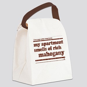 Mahogany Canvas Lunch Bag