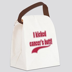 I Kicked Cancer's Butt! Canvas Lunch Bag