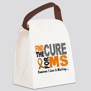 Find The Cure 1 MS Canvas Lunch Bag