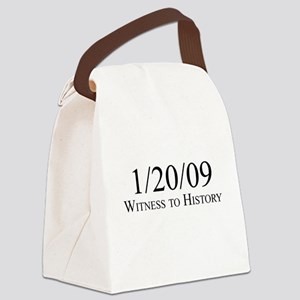 Witness to History 1/20/09 Canvas Lunch Bag